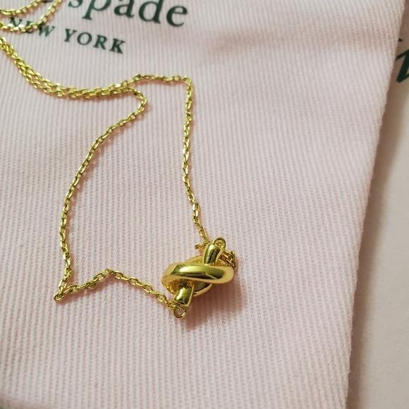Kate Spade Knot Necklace